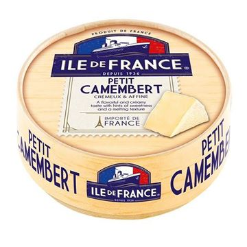 Picture of CHEESE ILE DE FRANCE PETIT CAMEMBERT 125 G (FRANCE)