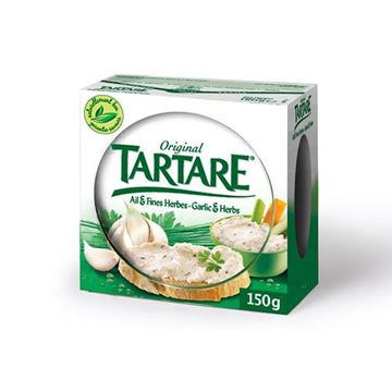 Picture of CHEESE SPREAD TARTARE FINE HERBS 150 G (FRANCE)