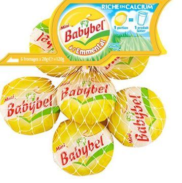 Picture of BABYBEL EMMENTAL PACK 6 X 20 G (FRANCE)