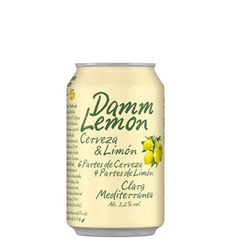 Picture of DAMM LEMON CAN 330 ML (SPAIN)
