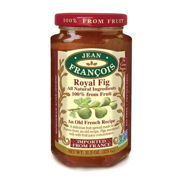 Picture of FIG JAM 325 GR - NO ADD SUGAR AND WITHOUT GLUTEN (FRANCE)