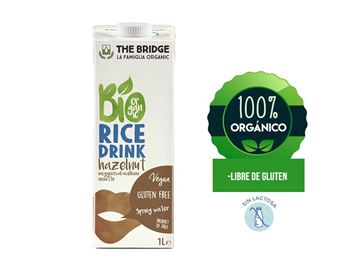 Picture of BIO RICE WITH HAZELNUTS 1 LT - GLUTEN FREE (ITALY)
