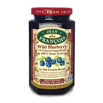 Picture of BLUEBERRY JAM 325 GR - NO ADD SUGAR AND WITHOUT GLUTEN (FRANCE)