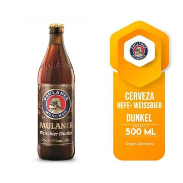 Picture of PAULANER WHEAT BLACK 500 ML (GERMANY)