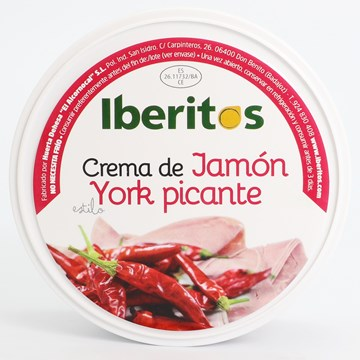 Picture of SPICY YORK STYLE HAM CREAM - GLUTEN FREE 250 GR (SPAIN)